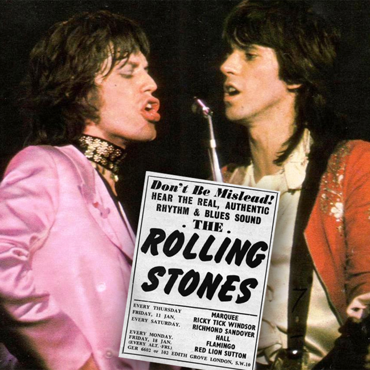 Stones Flyer Sutton