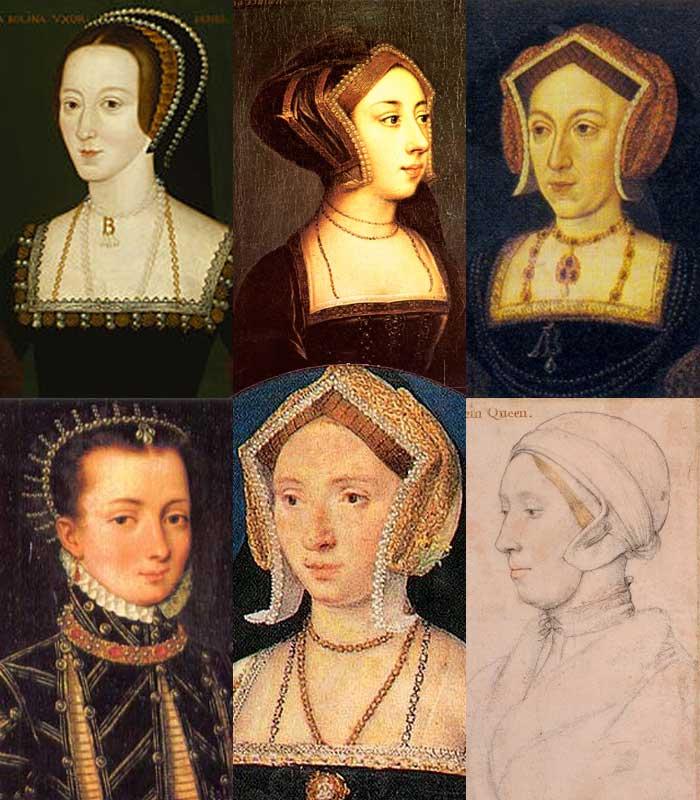 Various depictions of Anne Boleyn