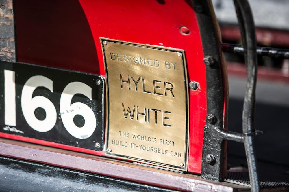 Carshalton Ironworks Kit Car Plate