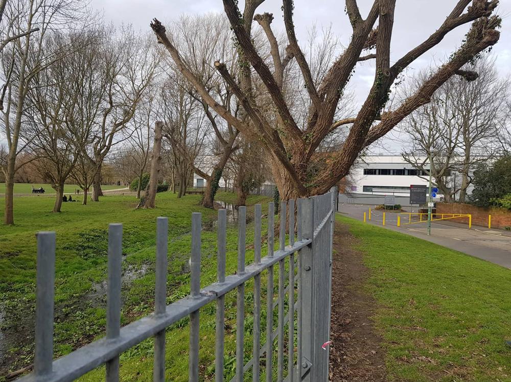 Carshalton Ironworks Westcroft today