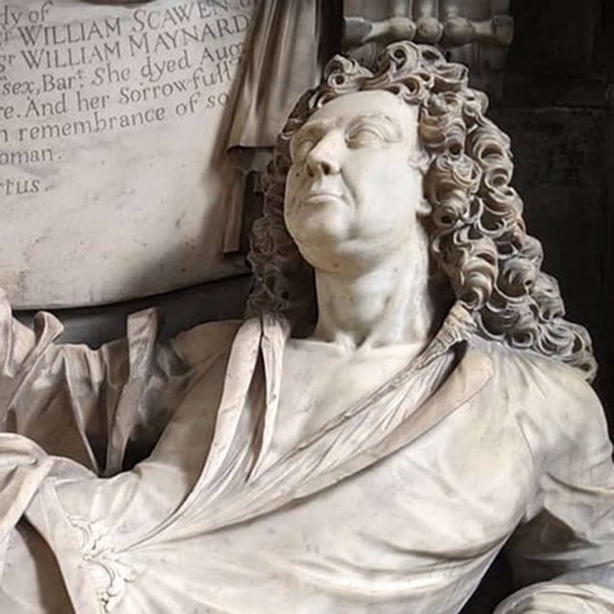 Bank Of England Governor, Sir William Scawen Has An Ornate Memorial At All Saints Carshalton