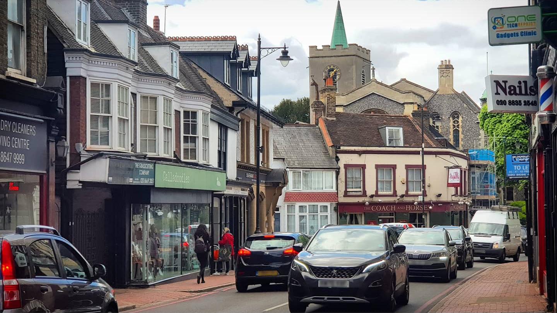 Carshalton High Street 2021